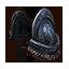 Epaules style anneausoie/lourd
